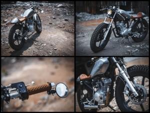 Yamaha YBR125 custom