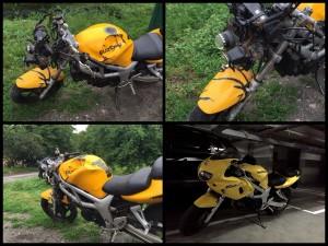 Восстановление Suzuki SV650