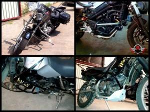 Изготовление защитных дуг на мотоцикл