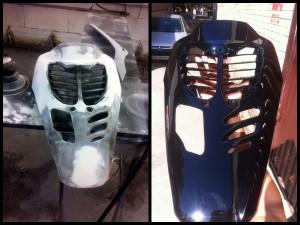 Подготовка, покраска, восстановление мото пластика