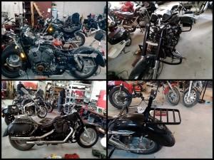 Изготовление багажника на мотоцикл