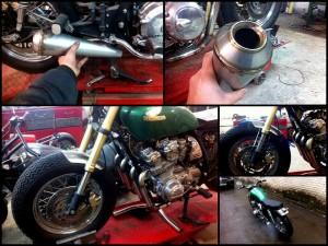 Изготовление выхлопных систем для мотоцикла