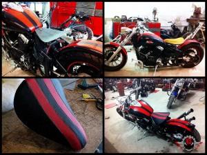 Изготовление сидения на мотоцикл