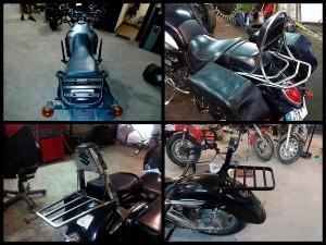 Изготовление багажника для мотоцикла