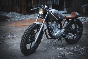 Кастомизация мотоцикла Yamaha YBR125
