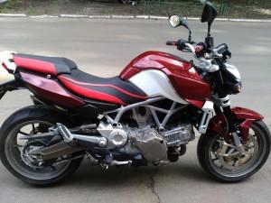 полная покраска мотоцикла Aprilia Mana