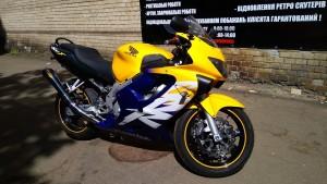 Покраска мотоцикла Honda CBR600