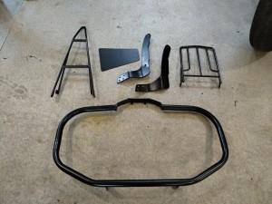 защитная дуга для мотоцикла, спинка для мотоцикла, багажник для мотоцикла