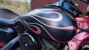 Покраска мотоцикла Kawasaki Vulcan