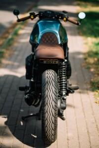 кастом на базе Cafe-Racer-BMW K75 изготовление кастома в kscustom