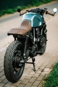 кастом на базе Cafe-Racer-BMW K75 изготовление